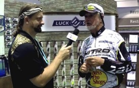 Lucky Strike with Rick Clunn - ICAST 2016