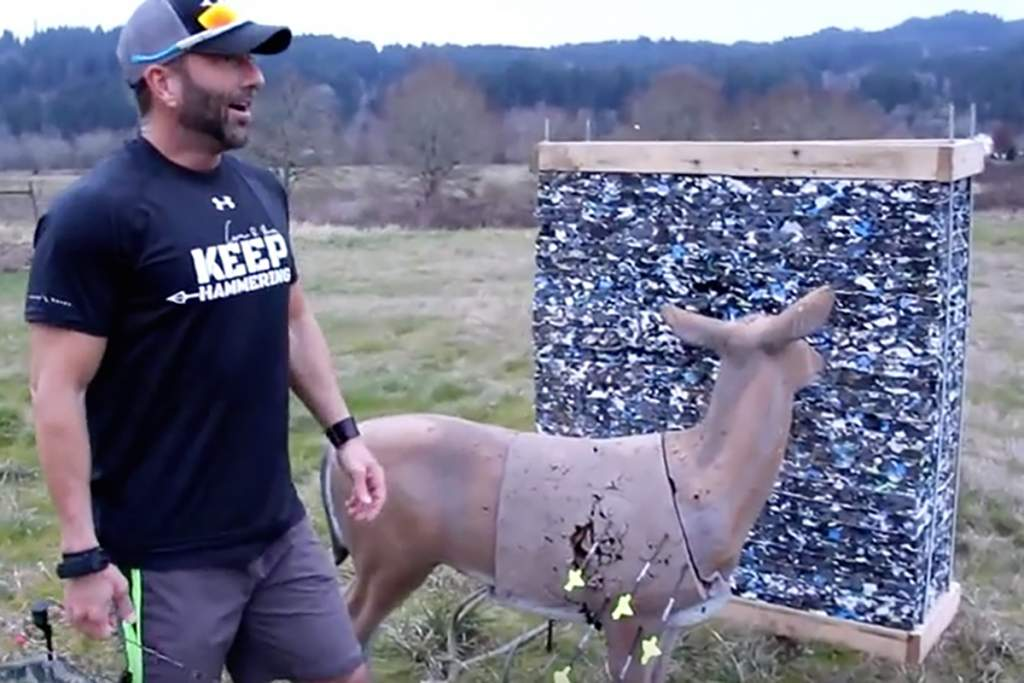 Long Range Archery - 160 Yard Grouping Video