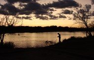 Texas Hotshots - Evening Fishing at Nelson Park Lake, Abilene, Texas