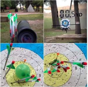 100 Yard Archery with Bowtech Insanity