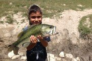 Texas Hotshots - First big bass