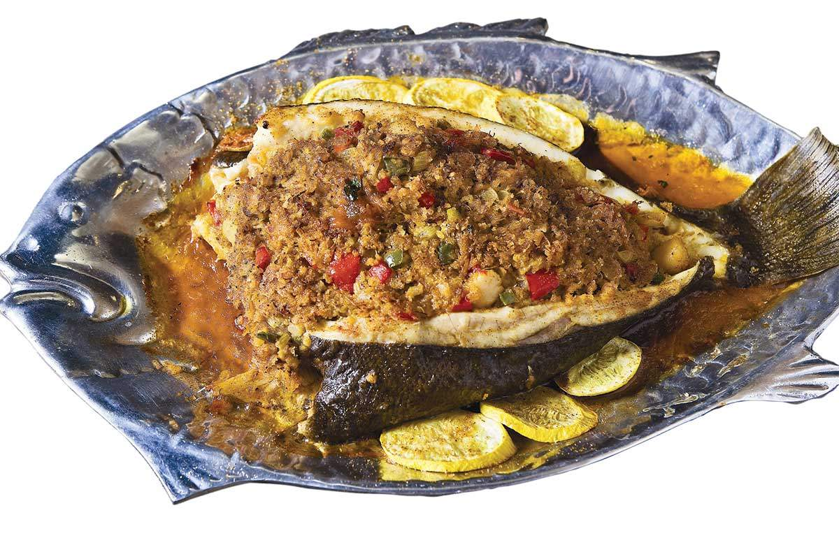 how to cook baked flounder