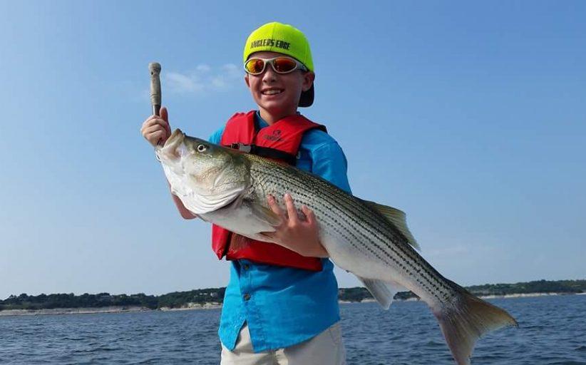 Barrett sets Junior Angler Lake Whitney Record