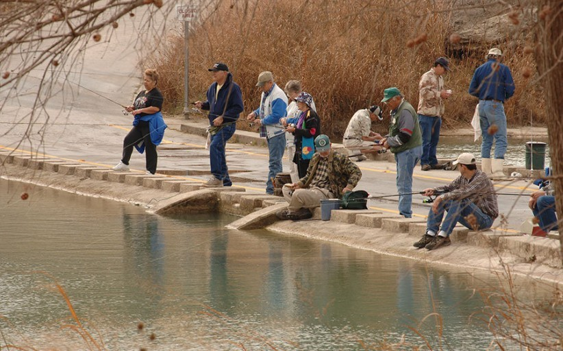 'Tis the Season for Rainbow Trout Fishing in Texas
