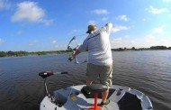 Fishing and Bowfishing from a One Man Round Boat