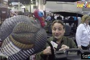 Flambeau Outdoors - MAD Spin-N-Strut Turkey Decoy - SHOT Show 2017